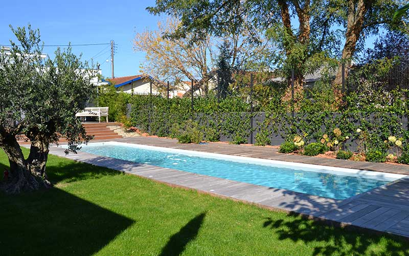 Pisciniste gironde couloirs de nage for Alarme piscine debordement