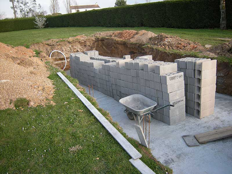 Pisciniste gironde constuction piscine b ton en gironde for Construction piscine 8x4